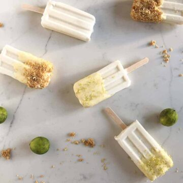key lime coconut popsicles