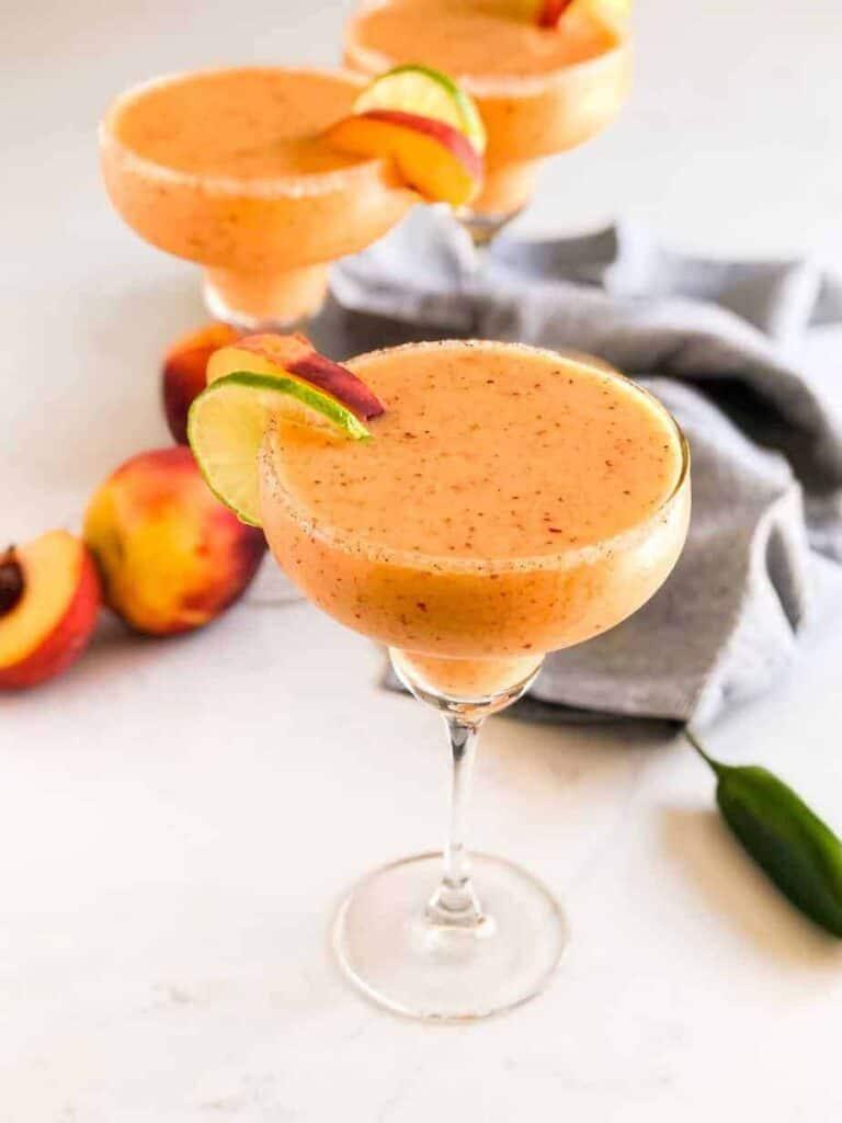 Spicy Peach Margarita