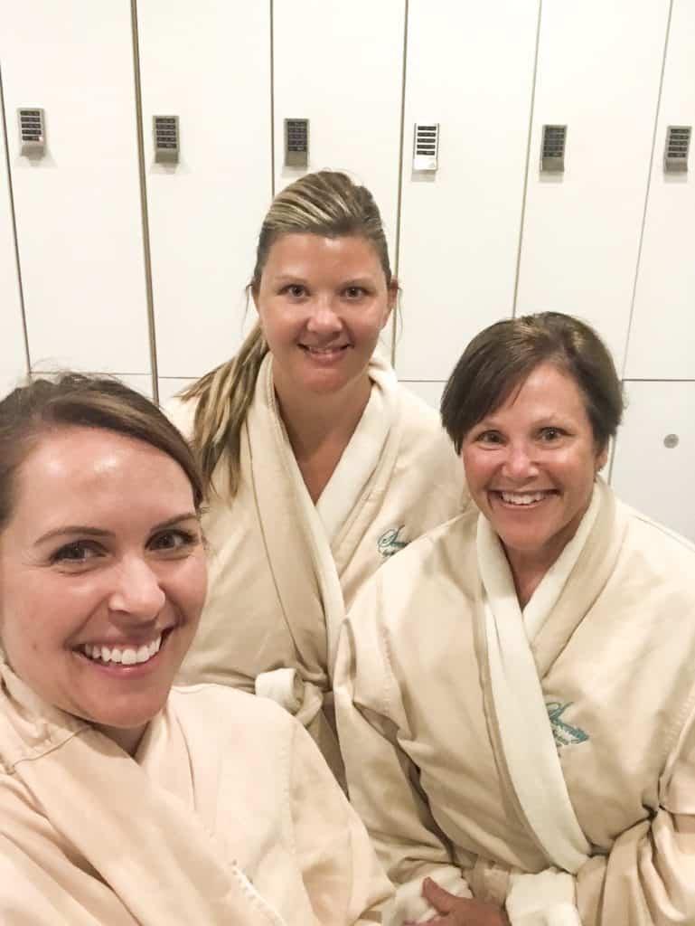 Ladies at the Spa